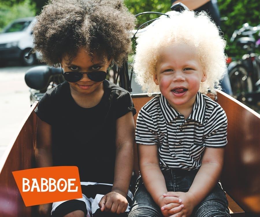 Babboe, kinderen in de bakfiets